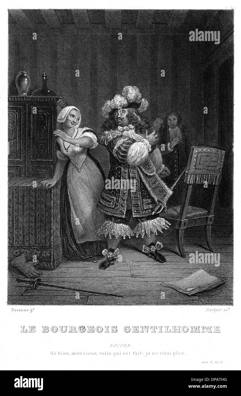 MOLIERE/BOURGEOIS GENT. - Stock Image
