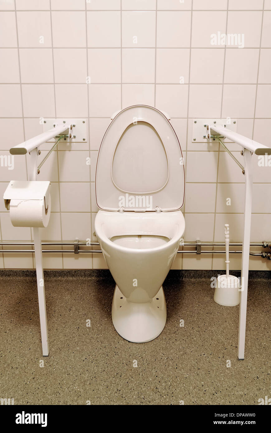 Disabled toilets - Stock Image