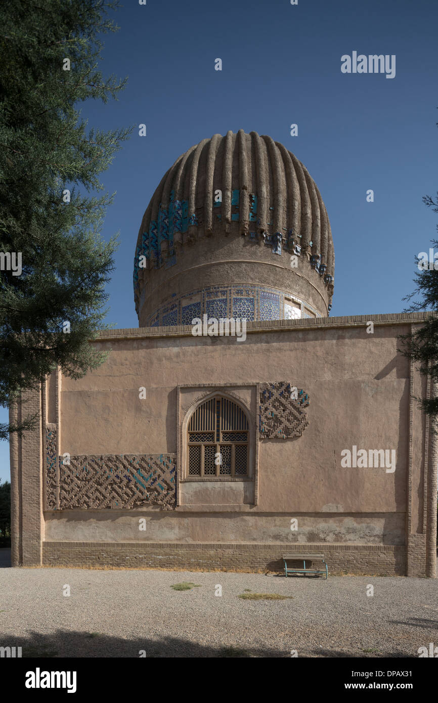 exterior of the mausoleum of Gawhar Shad, Herat, Afghanistan - Stock Image