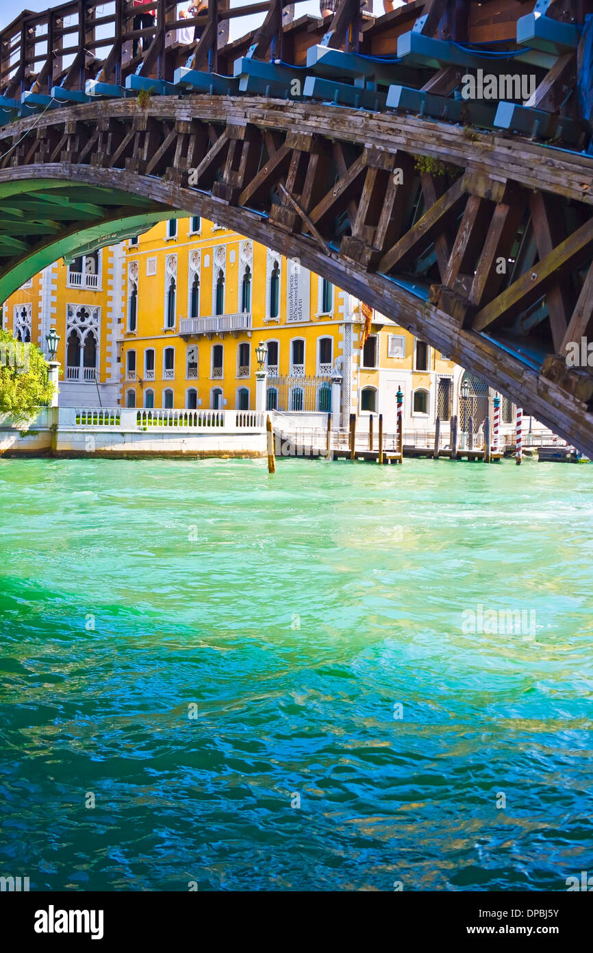 Academia Bridge in Venice Stock Photo