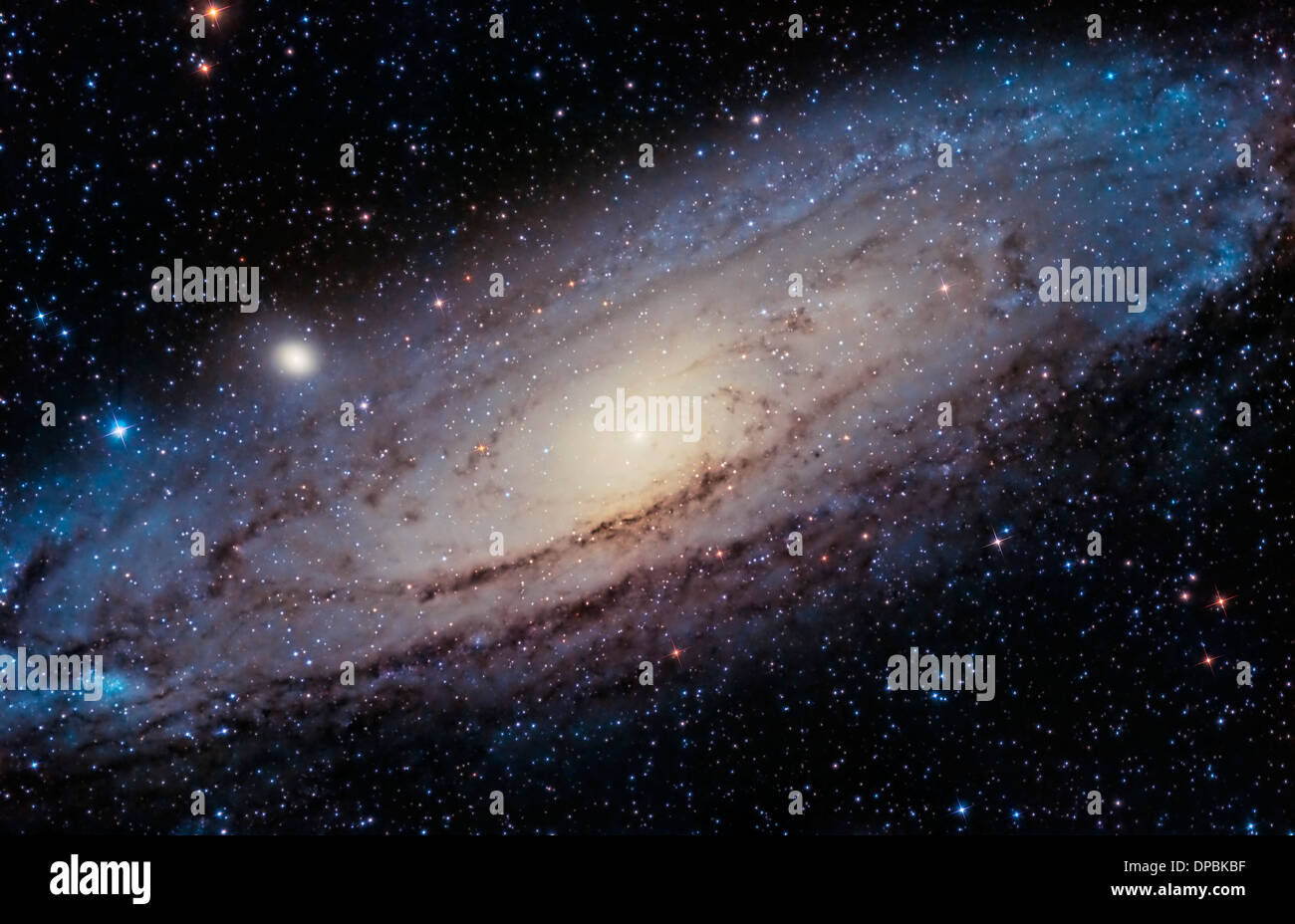 The Great Andromeda Galaxy - Stock Image