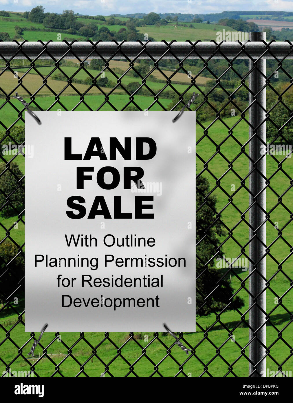 Land for Sale with Outline Planning Permission for Residential Stock ...