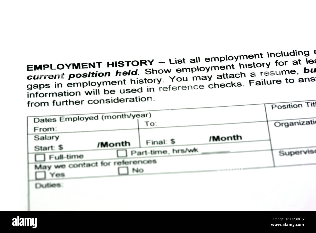 employment history stock photos employment history stock images