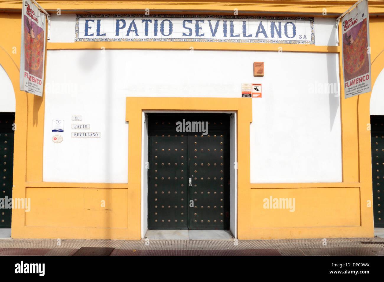 El Patio Sevillano Stock Photos El Patio Sevillano Stock Images