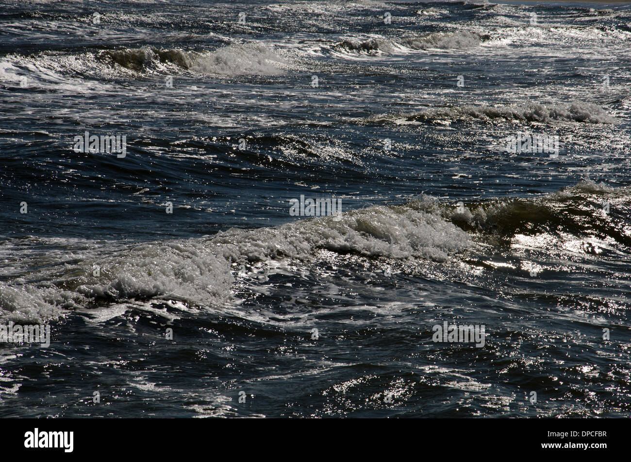 water surface - Stock Image
