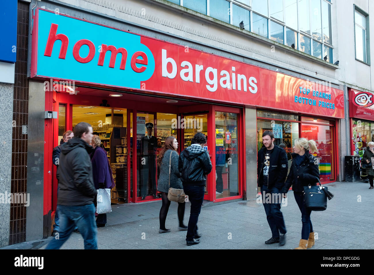 Home Bargains store on Lord Street in Liverpool city centre - Stock Image