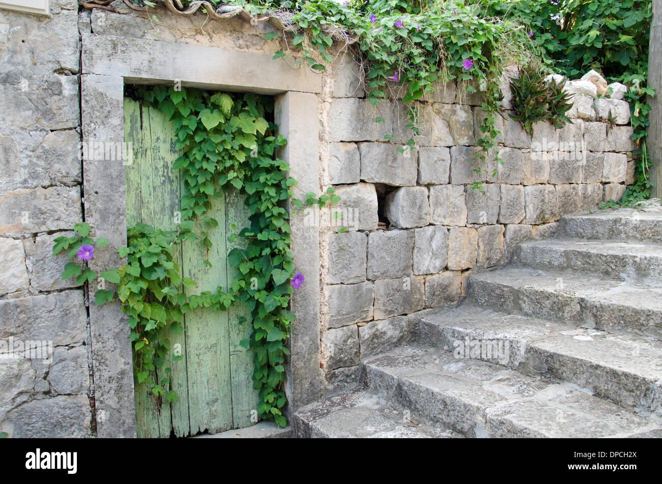 An old door - Stock Image
