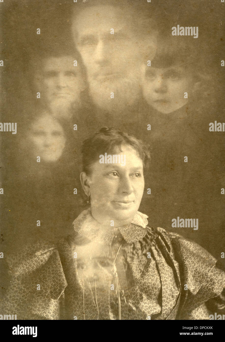 Koreshan Annie Grace Glosson Ordway (later Graves) in Chicago, Illinois - Stock Image