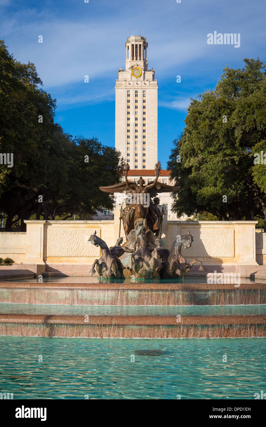 The University of Texas at Austin - Stock Image