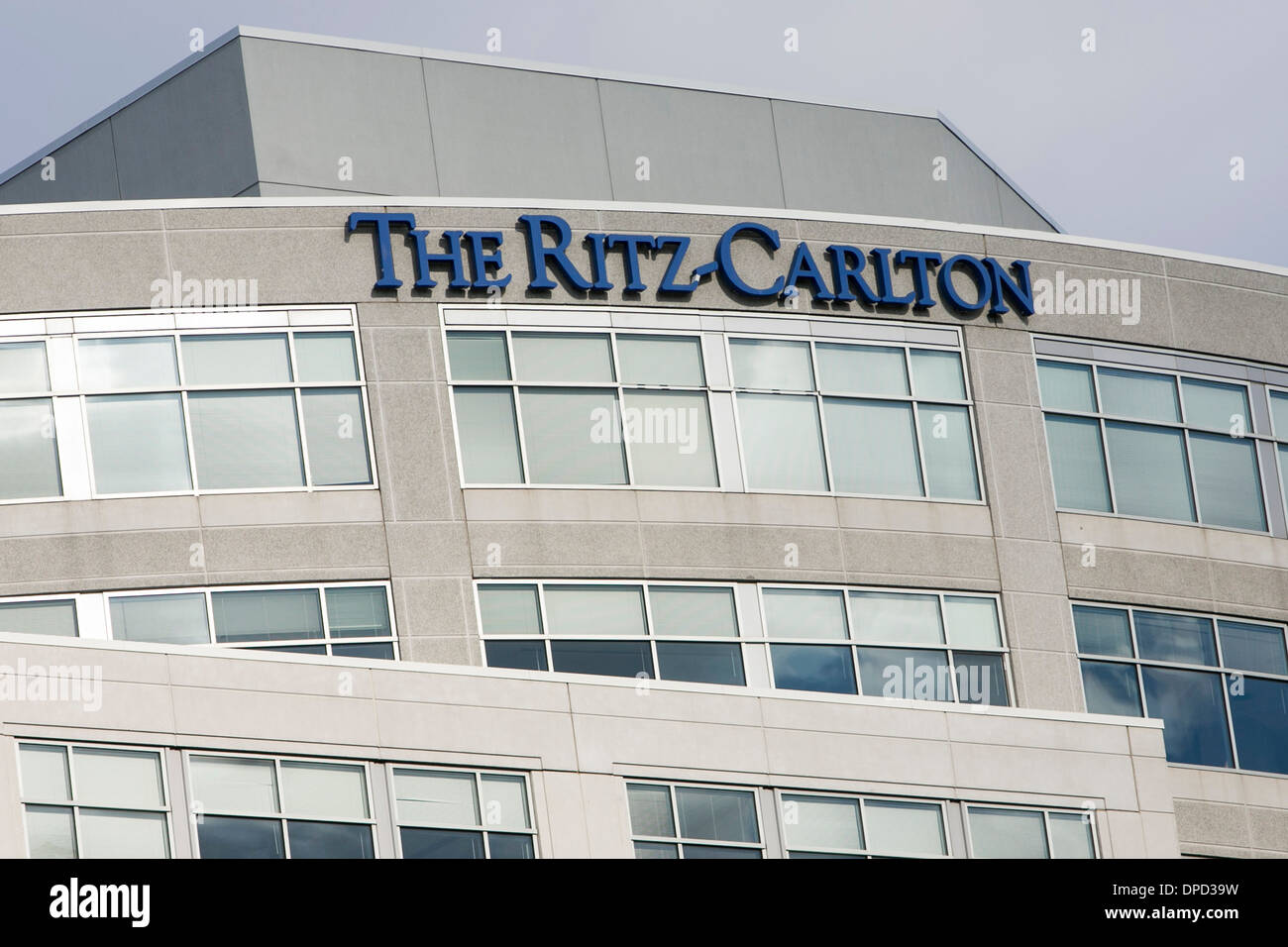 the headquarters of the ritz-carlton hotel chain in chevy chase stock photo  65441541