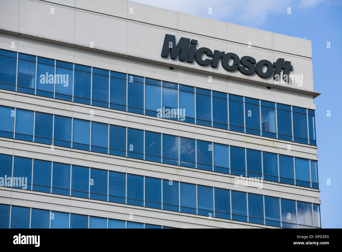 microsoft office building. An Office Building Occupied By Microsoft. - Stock Image Microsoft