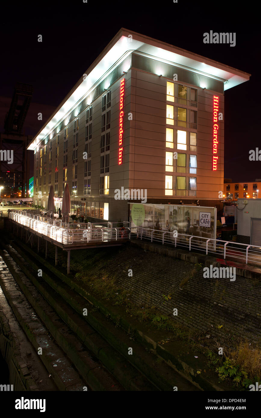Hilton Garden Hotel, Finnieston, Glasgow. - Stock Image