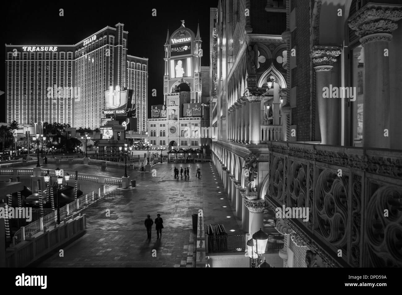 Venetian Hotel in Las Vegas, Nevada - Stock Image