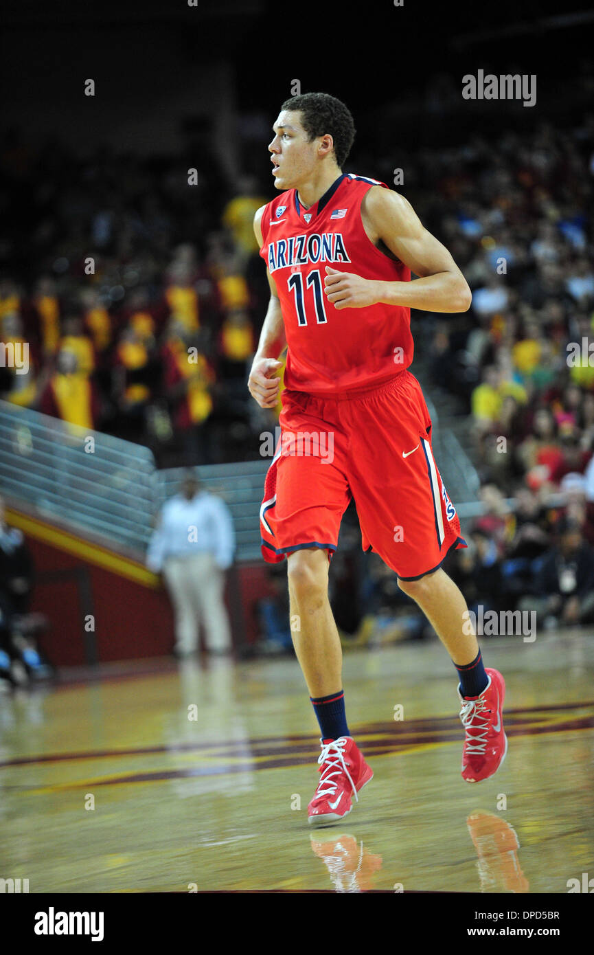 Aaron Gordon Arizona Wildcats Basketball Jersey-Navy