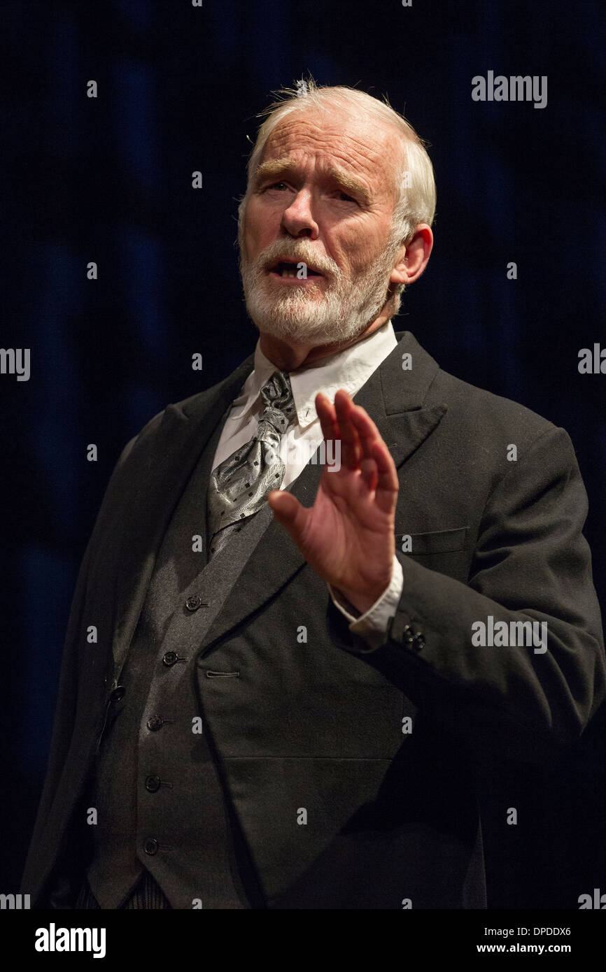 Ian McElhinney stage screen actor 'A Better Boy' - Stock Image
