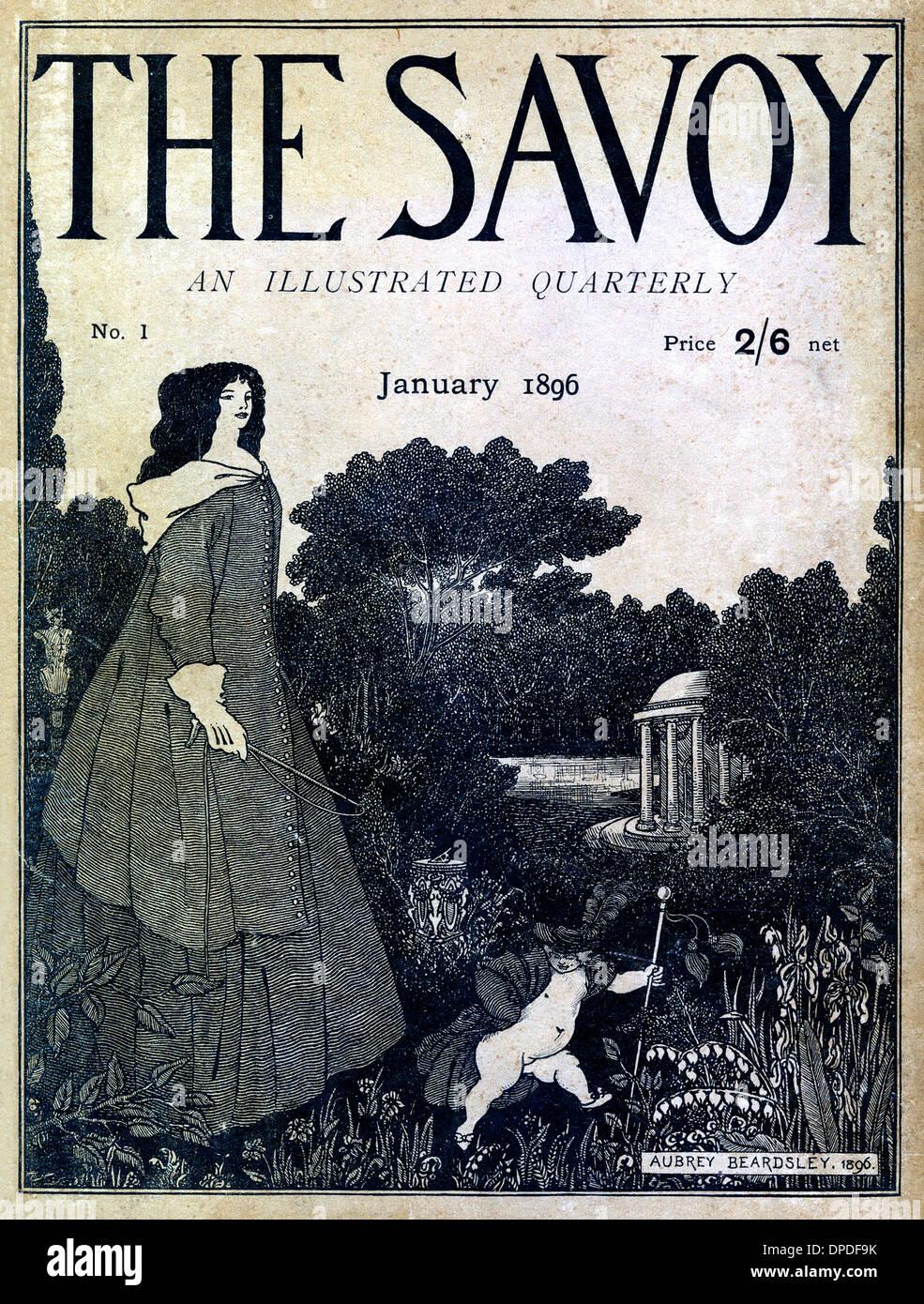 The Savoy Magazine, volume 1 - Stock Image