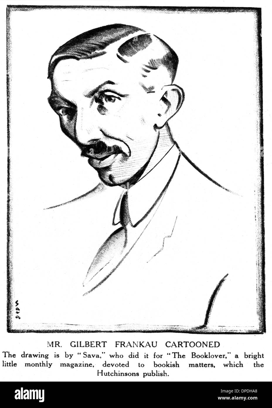 GILBERT FRANKAU - Stock Image