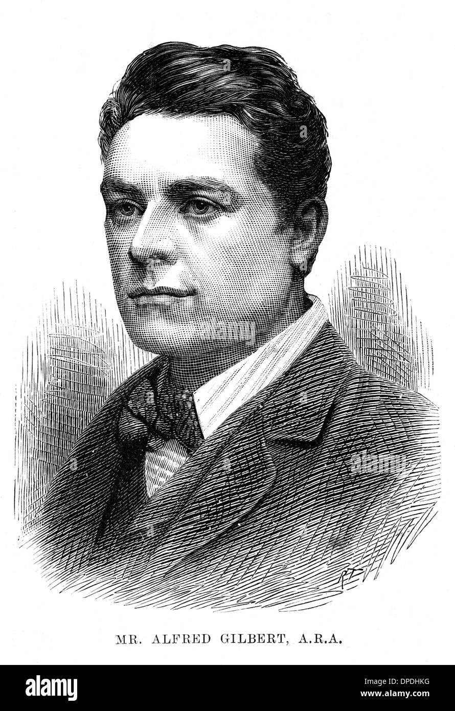 SIR ALFRED GILBERT - 2 - Stock Image