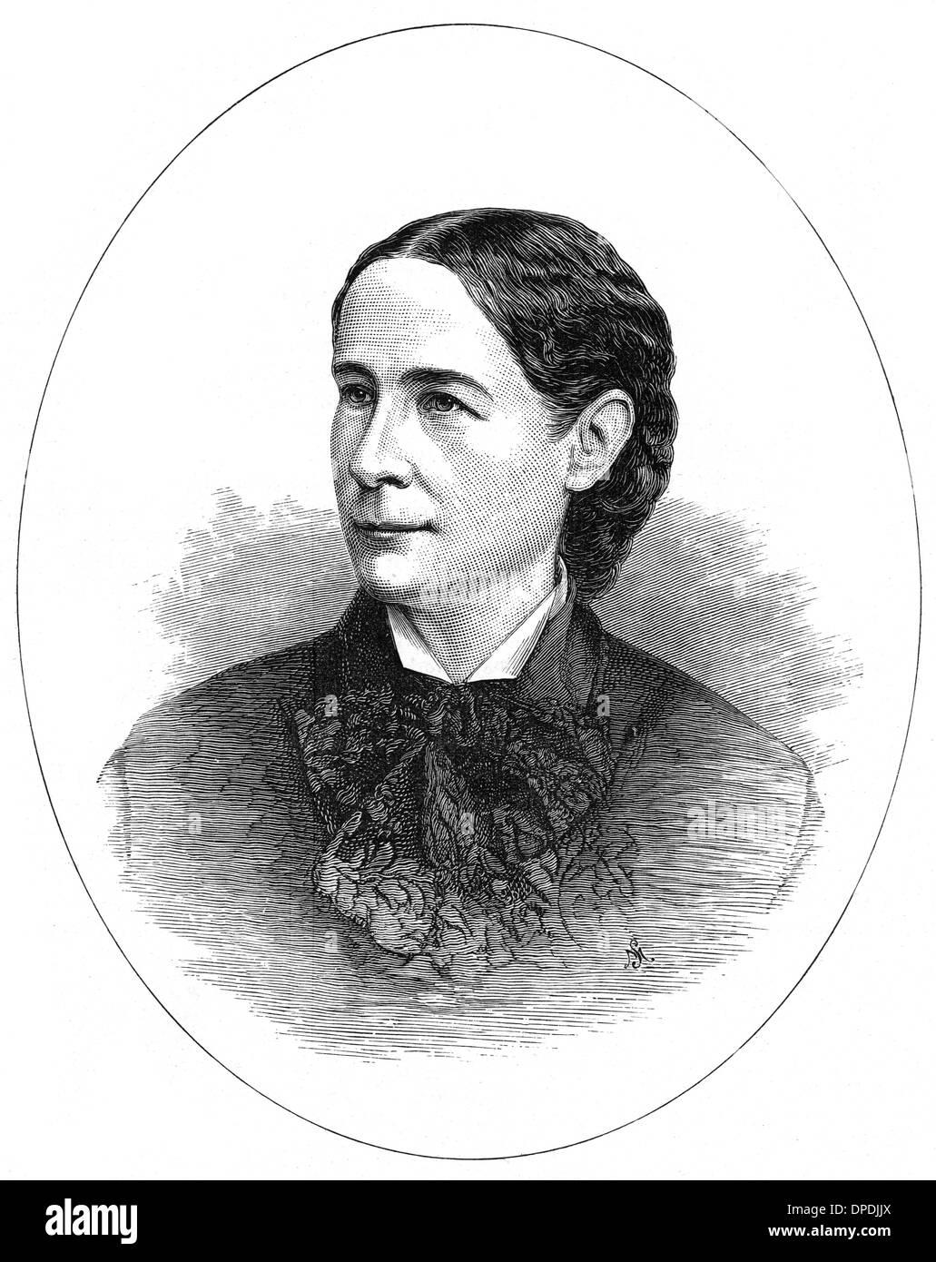 MRS GRIFFITH JOHN - Stock Image