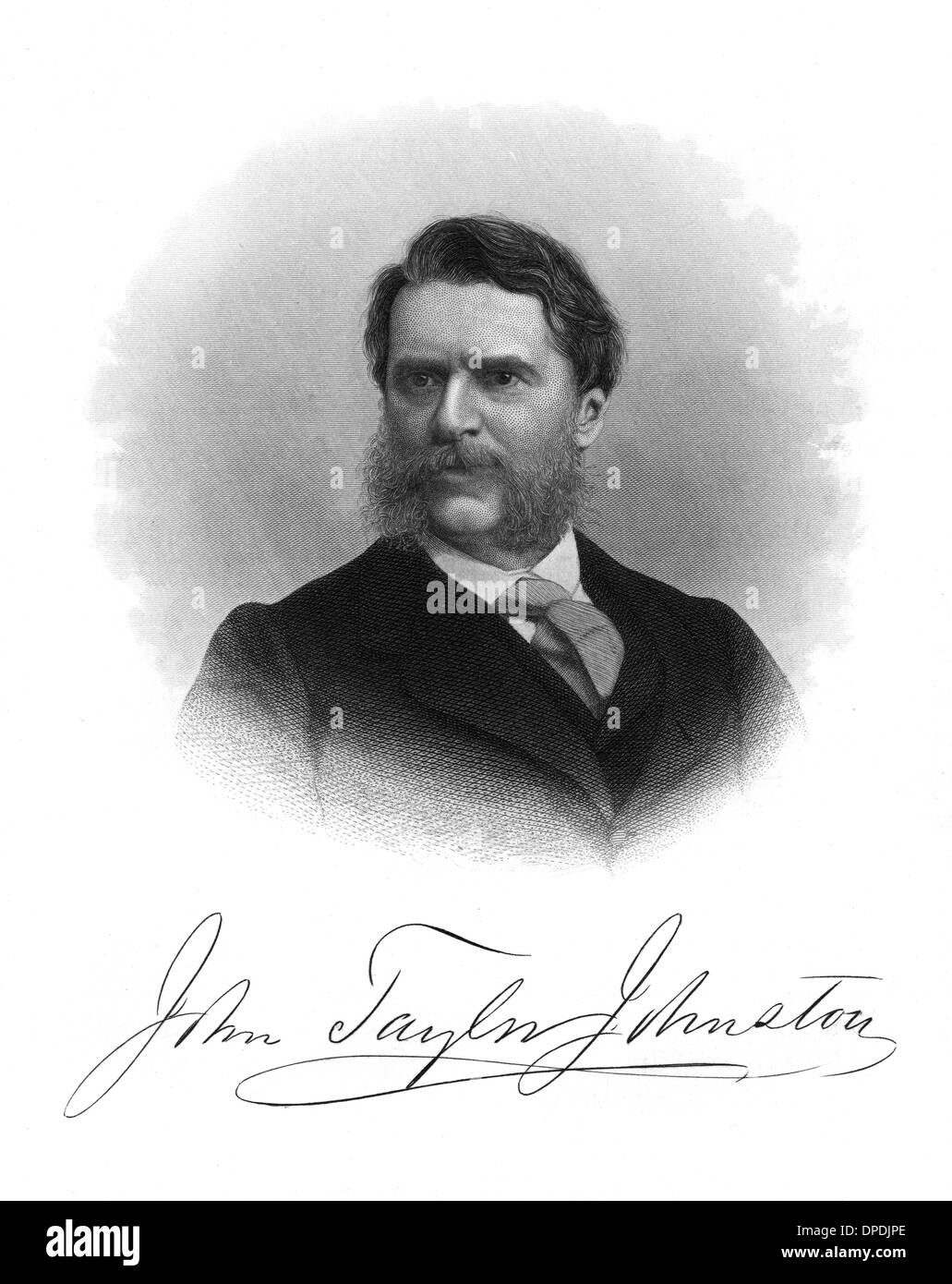 JOHN TAYLOR JOHNSTON - Stock Image