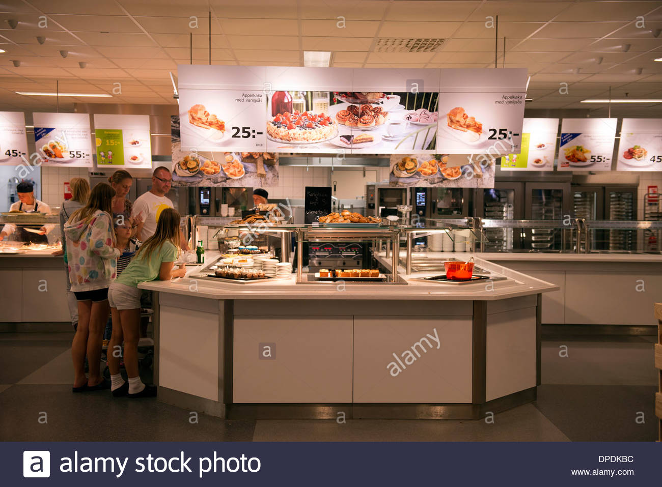 bistrot,ikea,almhult,sweden - Stock Image