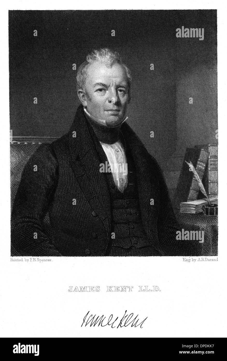 JAMES KENT, JURIST - Stock Image