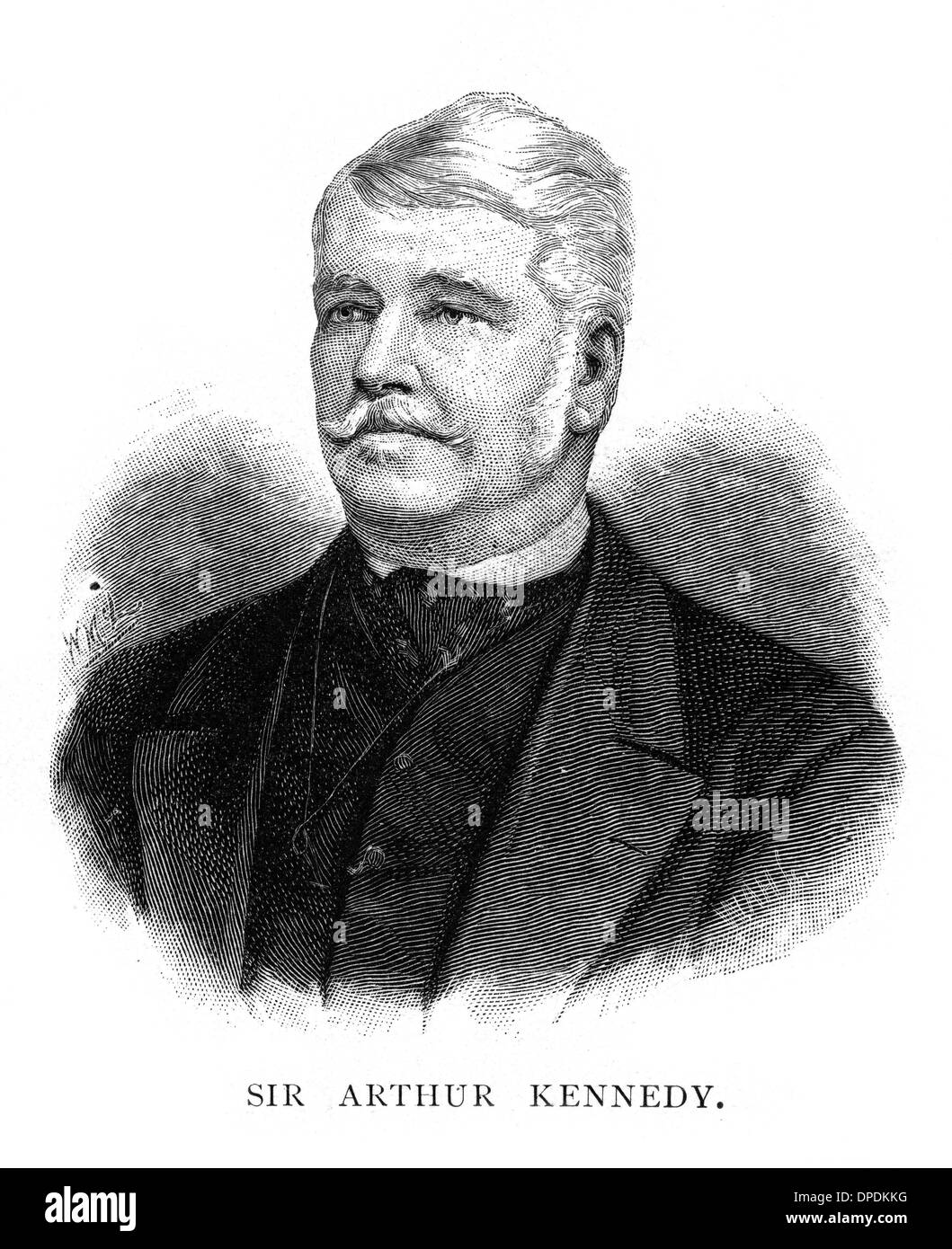 ARTHUR EDWARD KENNEDY - Stock Image