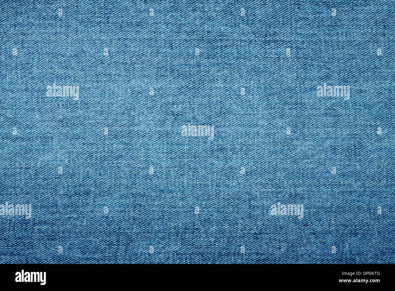 Background of coarse thick sturdy denim blue - Stock Image