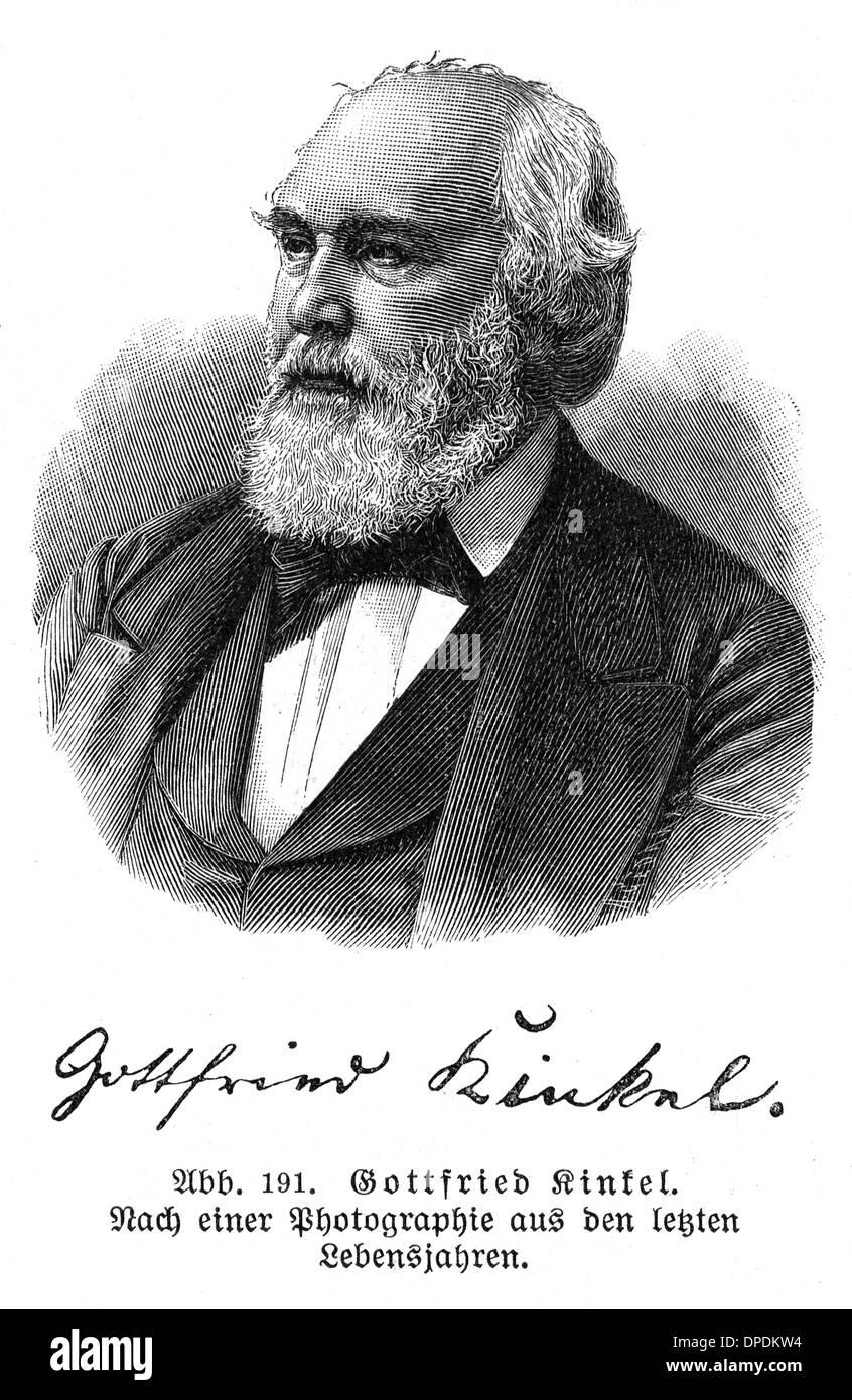 Gottfried Kinkel theologian writer