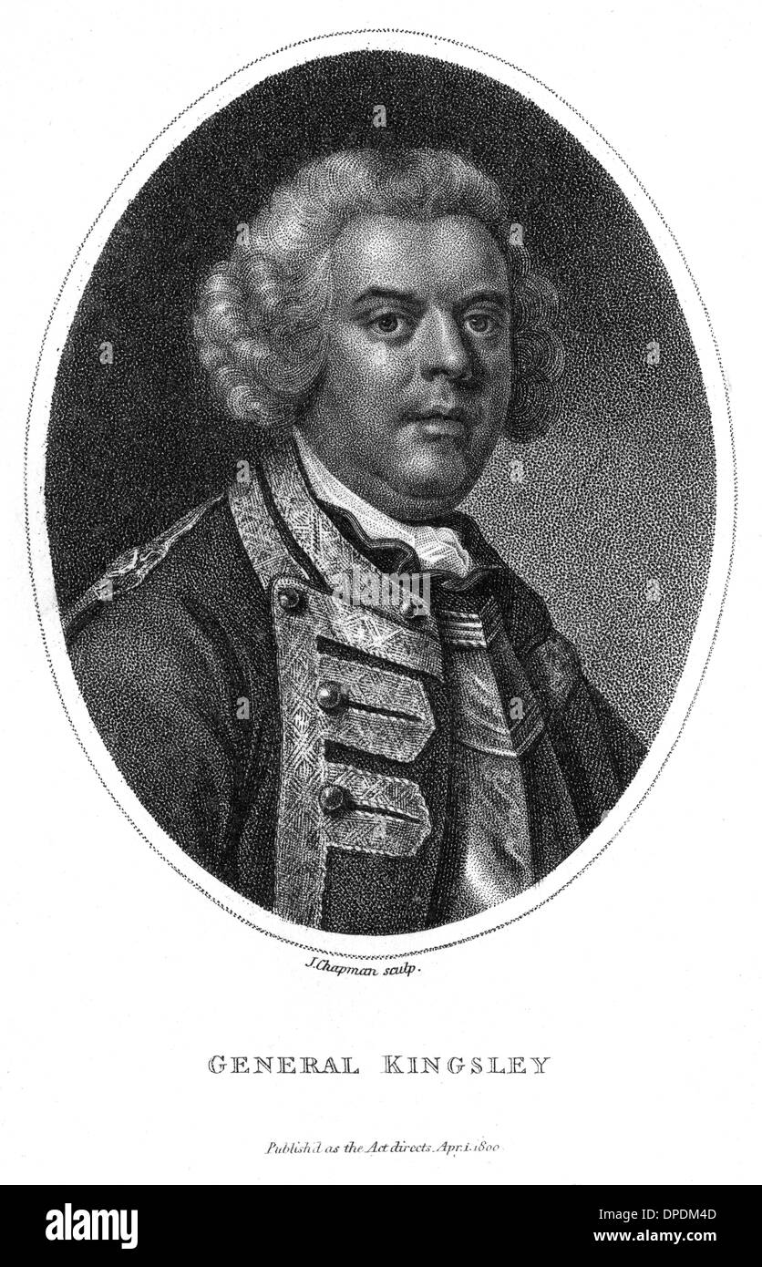 WILLIAM KINGSLEY - Stock Image