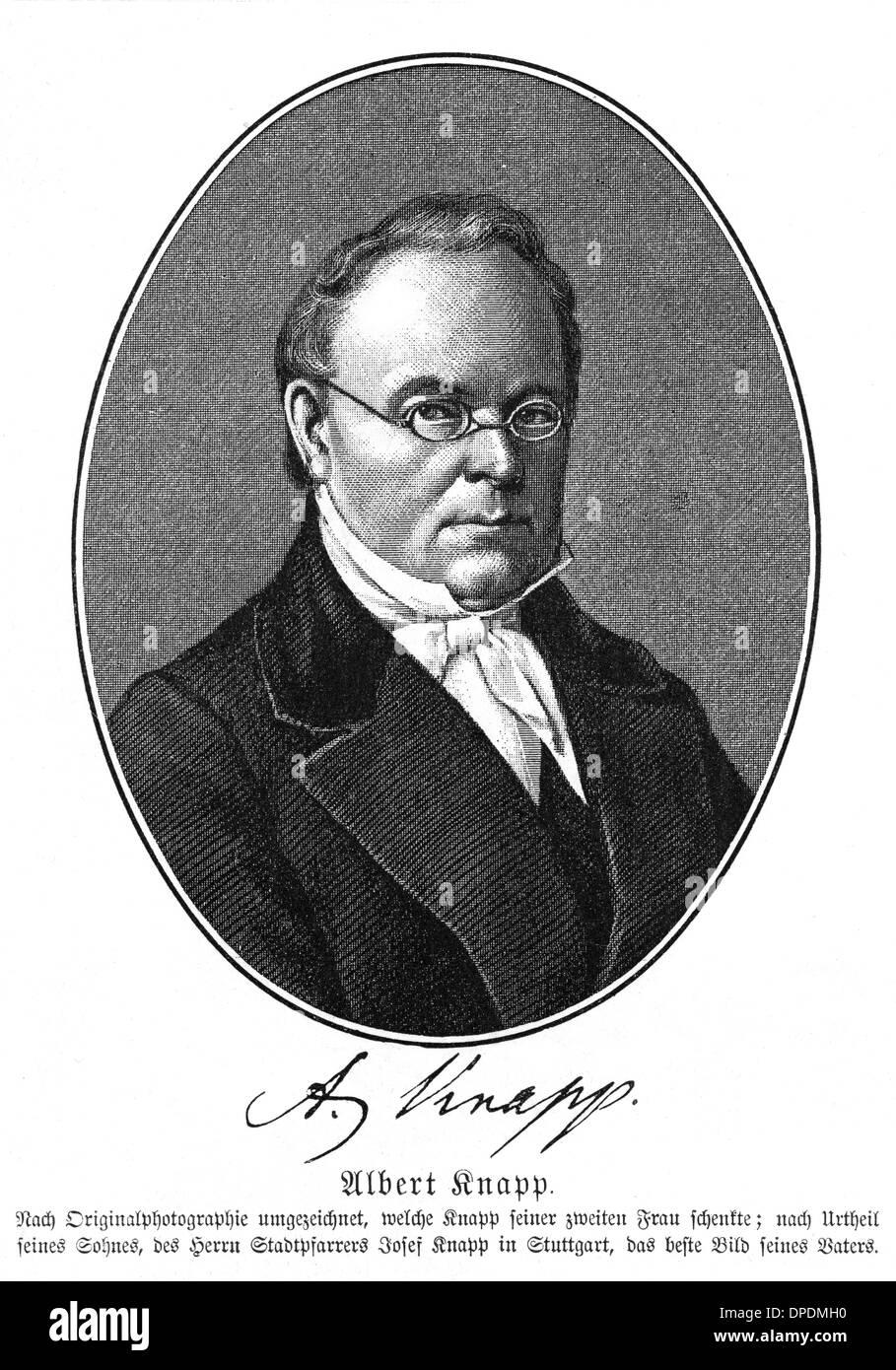 ALBERT KNAPP - Stock Image