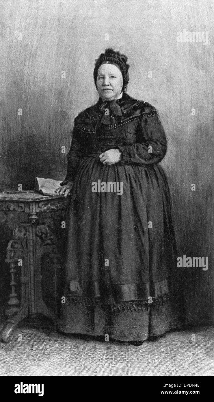 MRS PAUL KRUGER - Stock Image