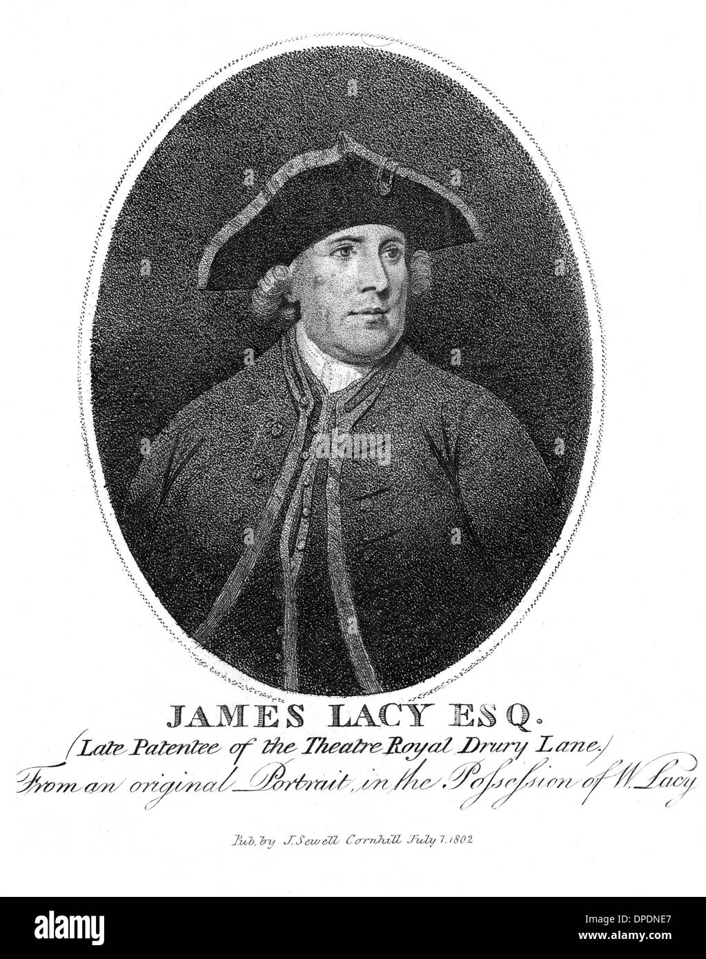 JAMES LACY, THEATRE - Stock Image