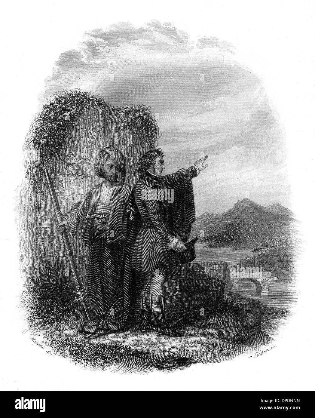 LAMARTINE EN VOYAGE - Stock Image