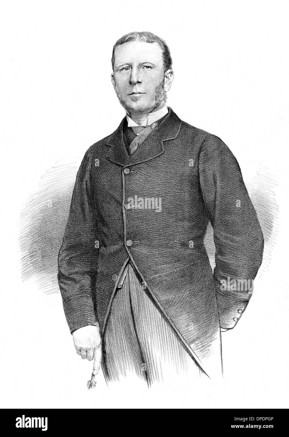 EARL OF LANESBOROUGH - Stock Image