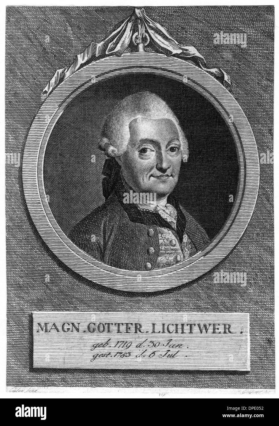 MAGNUS LICHTWER - 2 - Stock Image