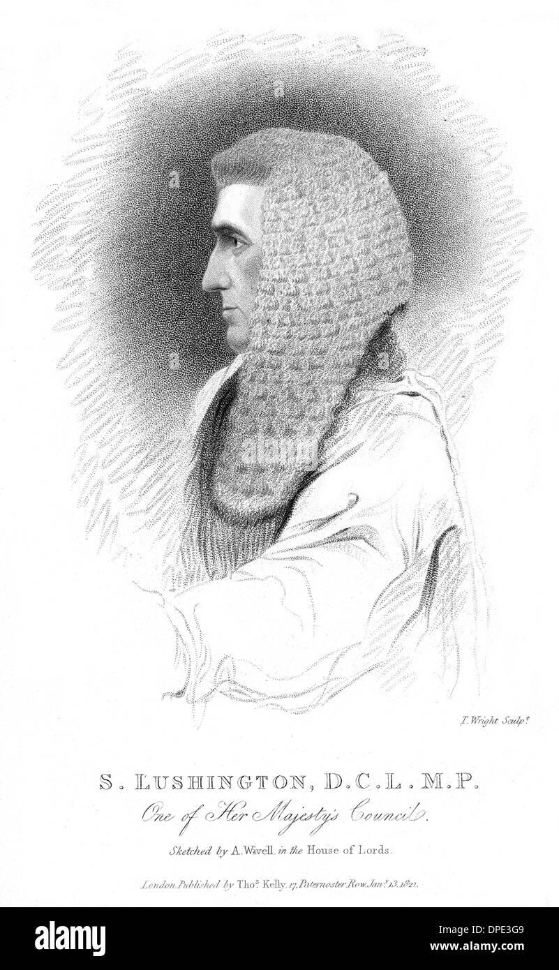 STEPHEN LUSHINGTON - 1 - Stock Image