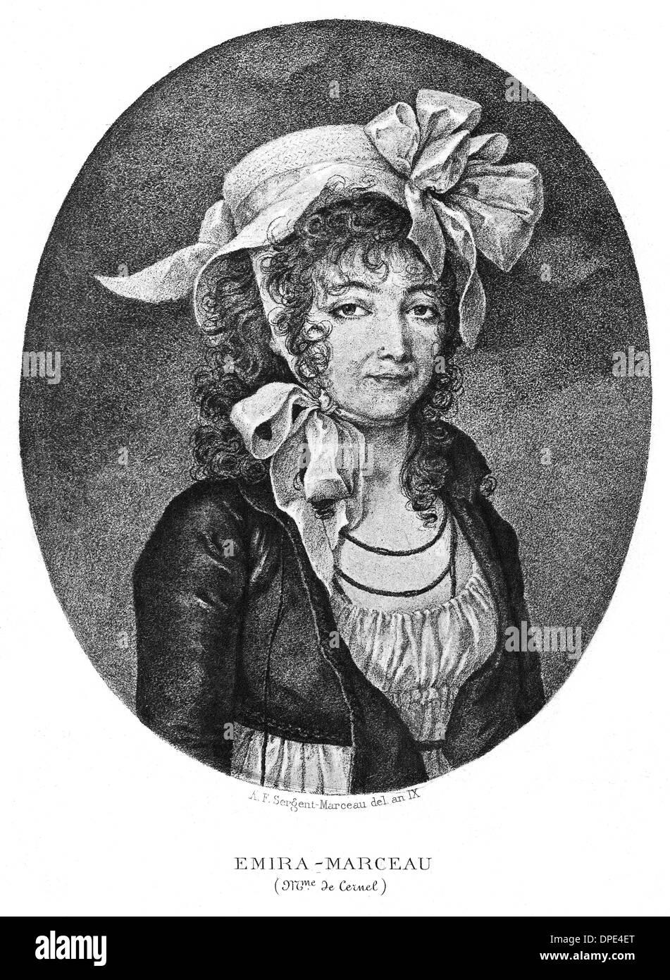 EMIRA MARCEAU - Stock Image