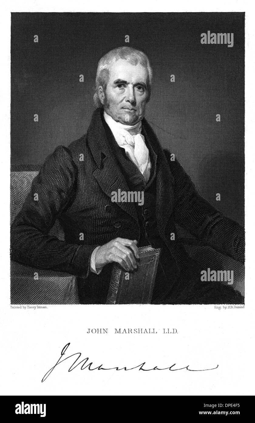 JOHN MARSHALL - 2 - Stock Image