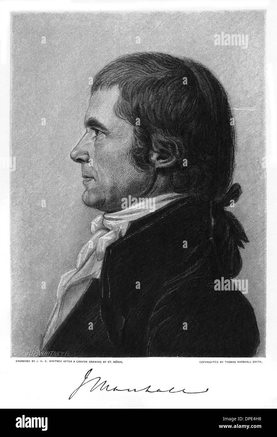JOHN MARSHALL - 3 - Stock Image