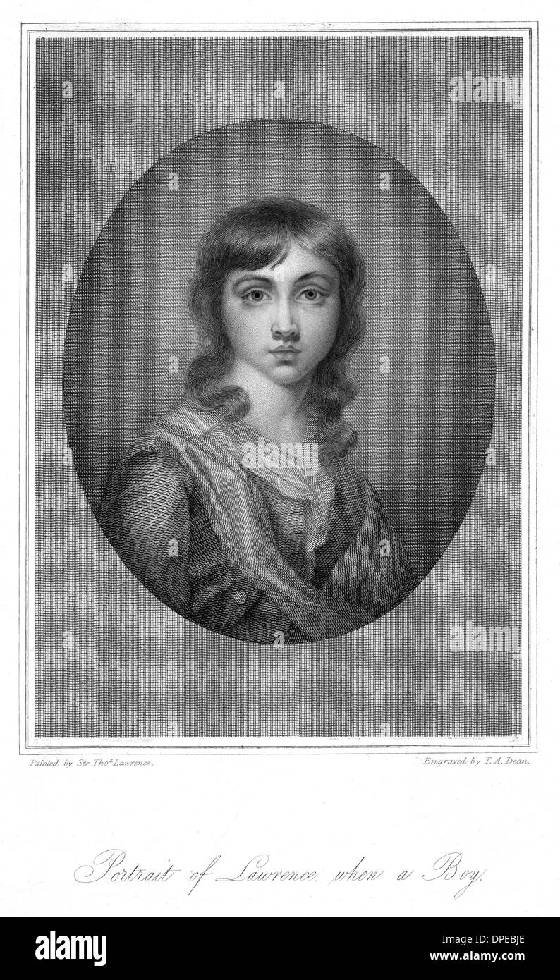 THOMAS LAWRENCE (YOUNG) - Stock Image
