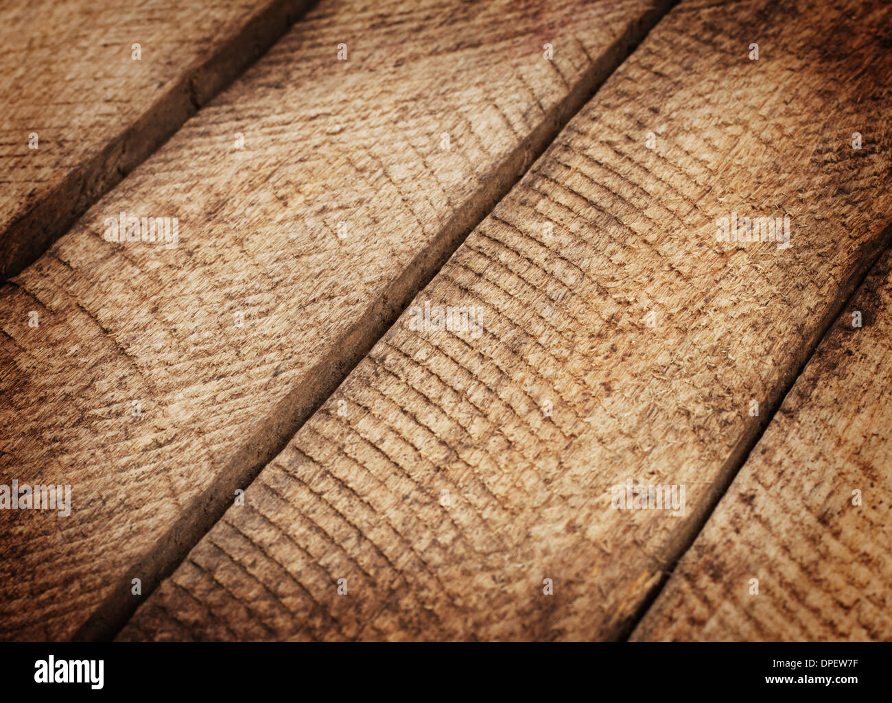The background of the old wooden planks of pine - Stock Image