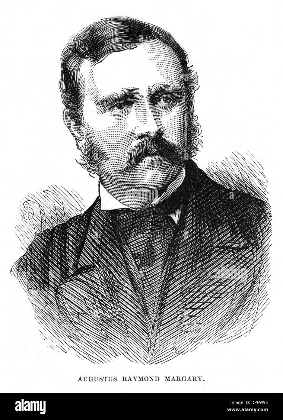 AUGUSTUS RAYMOND MARGARY - Stock Image