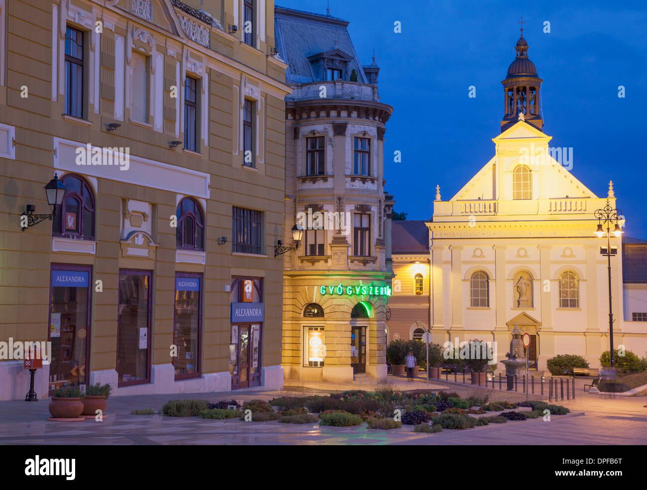 Church of the Good Samaritan, Pecs, Southern Transdanubia, Hungary, Europe - Stock Image
