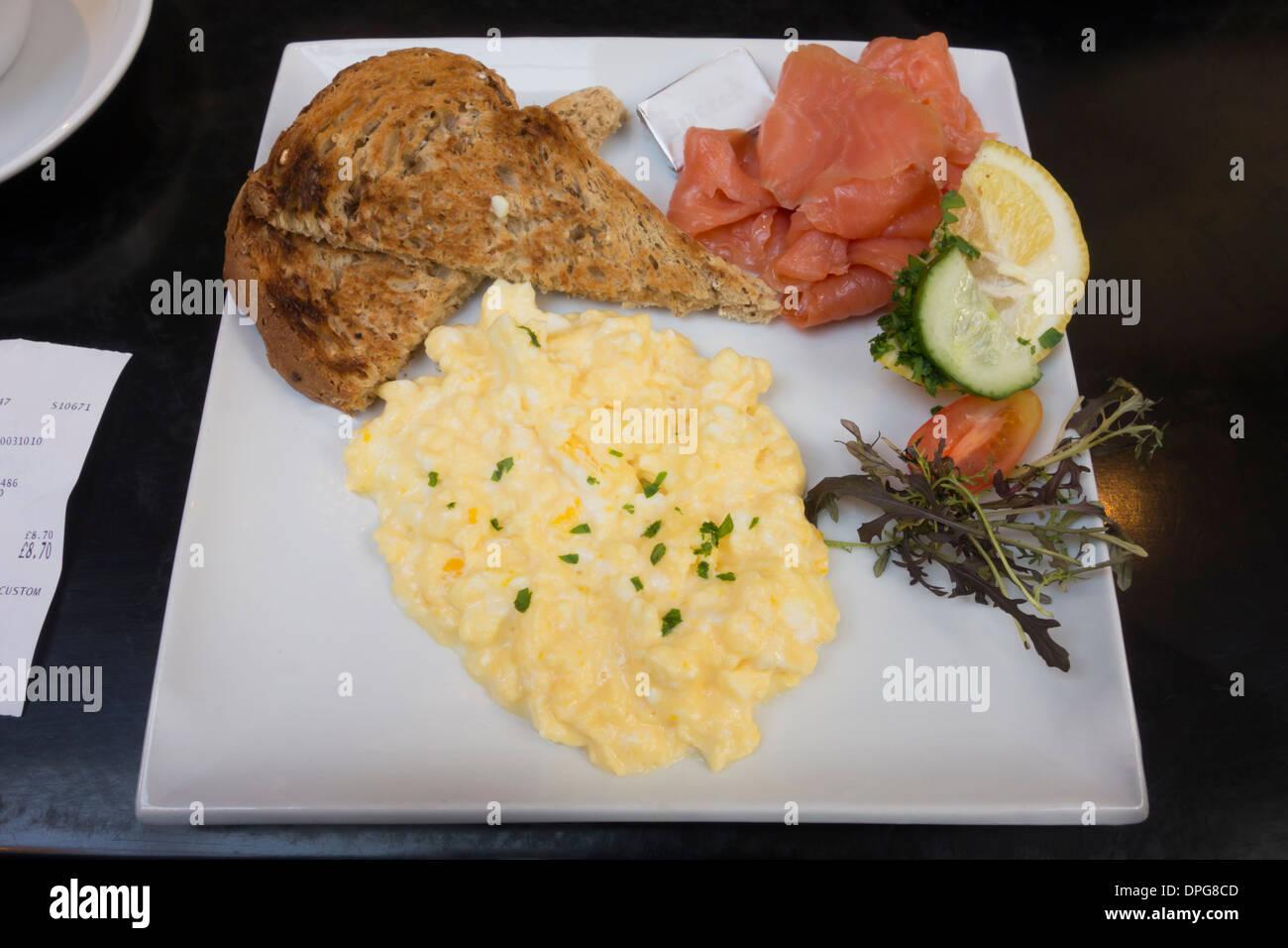 europe, UK, England, breakfast - Stock Image