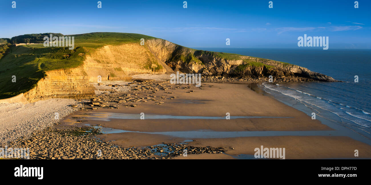 Dunraven Bay Stock Photo