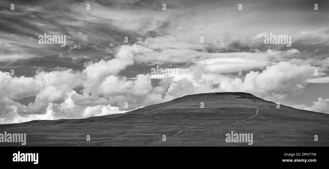 The Sugar Loaf Mountain, near Abergavenny, Wales. Stock Photo