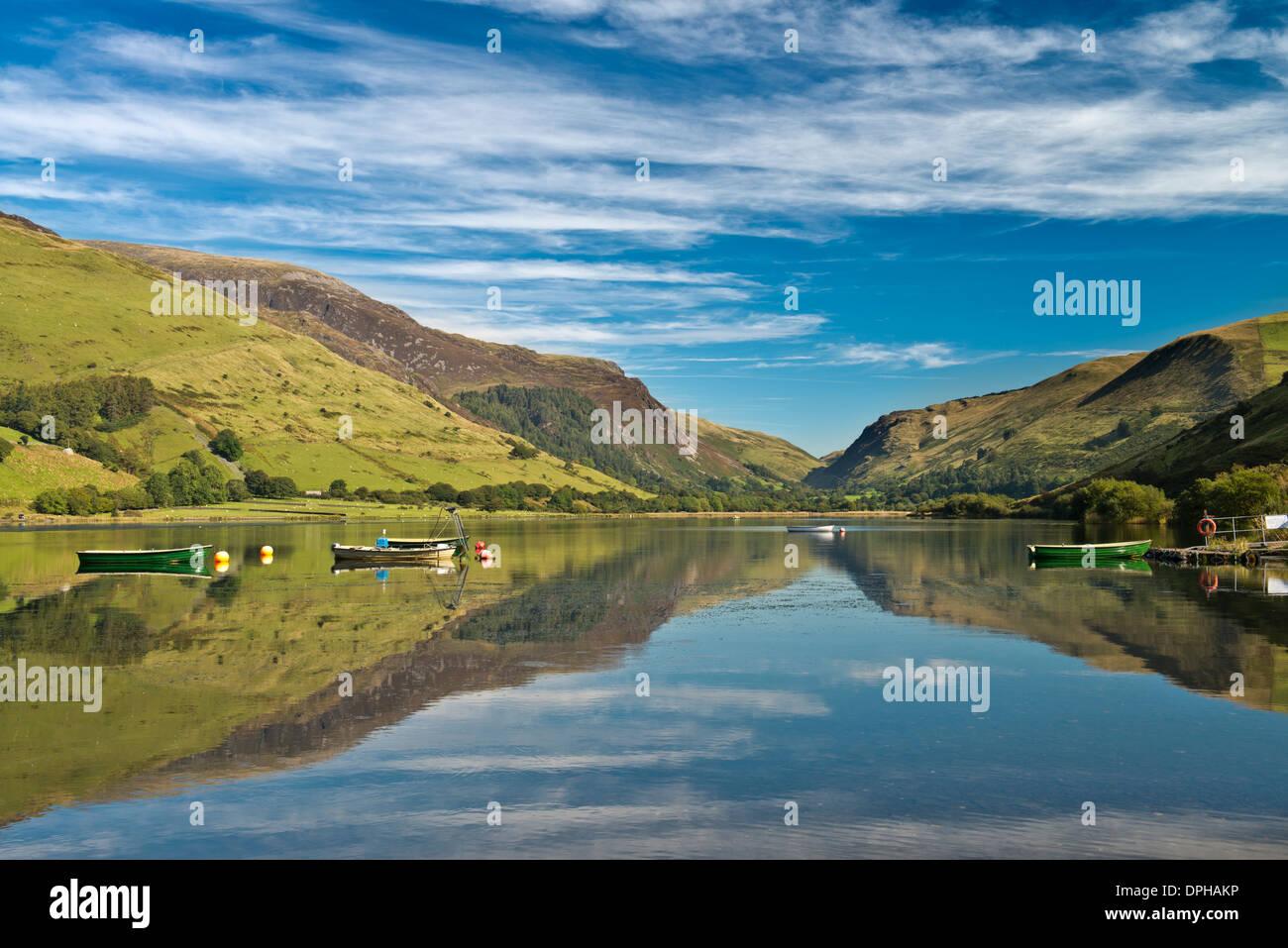 Tal Y Llyn, Snowdonia Stock Photo