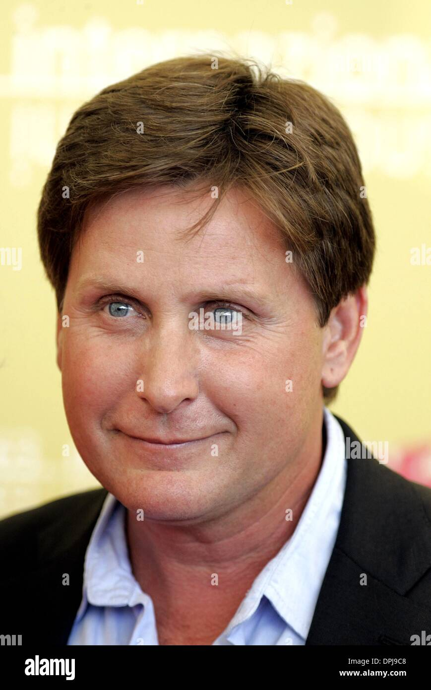 Oct. 10, 2006 - 63rd Venice Film Festival, VENICE, ITALY - EMILIO ESTEVEZ.ACTOR.BOBBY, PHOTOCALL.63RD VENICE FILM Stock Photo