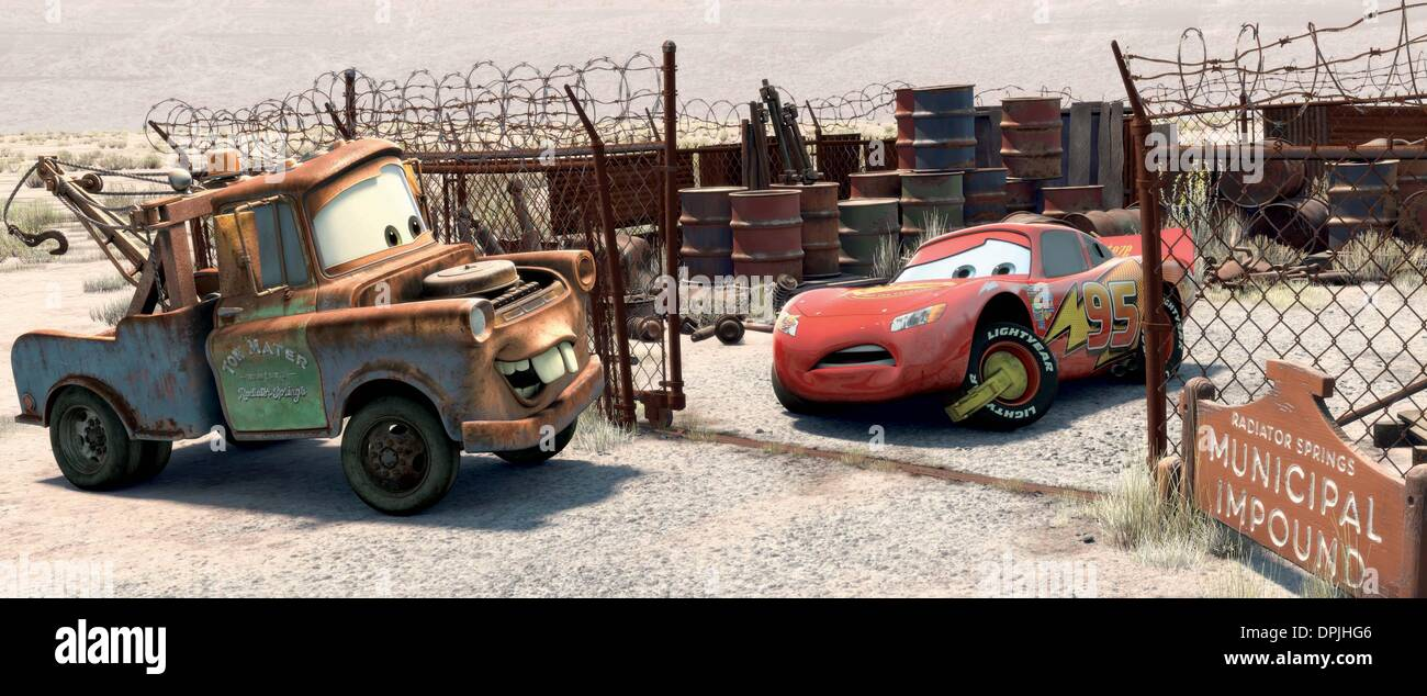 Lightning Mcqueen Cars 2006 High Resolution Stock Photography And